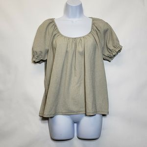TeXTURE & THREAD By Madewell blouse Size M